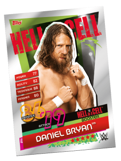 TOPPS WWE SLAM ATTAX RELOADED 2020 HELL IN A CELL BOOSTER DANIEL BRYAN