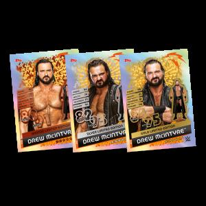 TOPPS WWE SLAM ATTAX RELOADED 2020 LE 3 DREW MCINTYRE