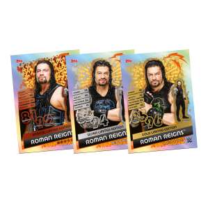 TOPPS WWE SLAM ATTAX RELOADED 2020 LE 3 ROMAN REIGNS