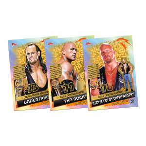 TOPPS WWE SLAM ATTAX RELOADED 2020 LE GOLD