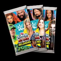 TOPPS WWE SLAM ATTAX RELOADED 2020 MODELES DE POCHETTES DE 7 CARTES