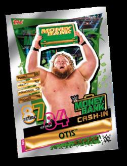 TOPPS WWE SLAM ATTAX RELOADED 2020 MONEY BANK CASH-IN OTIS