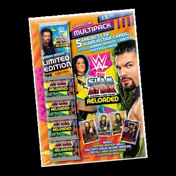 TOPPS WWE SLAM ATTAX RELOADED 2020 MULTIPACK LE DANIEL BRYAN 02