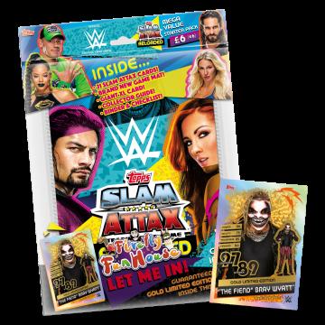 TOPPS WWE SLAM ATTAX RELOADED 2020 PACK DE DEMARRAGE