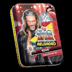 TOPPS WWE SLAM ATTAX RELOADED 2020 PETITE BOITE COLLECTOR TIN LE EDGE
