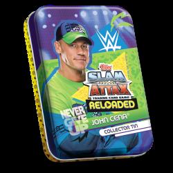 TOPPS WWE SLAM ATTAX RELOADED 2020 PETITE BOITE COLLECTOR TIN LE JOHN CENA