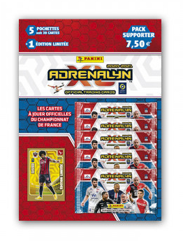 PANINI ADRENALYN XL LIGUE 1 2020-2021 PACK SUPPORTER DANTE