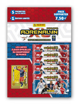 PANINI ADRENALYN XL LIGUE 1 2020-2021 PACK SUPPORTER HILTON