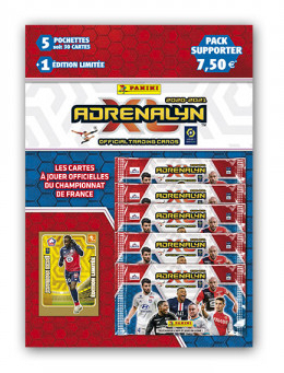 PANINI ADRENALYN XL LIGUE 1 2020-2021 PACK SUPPORTER IKONE