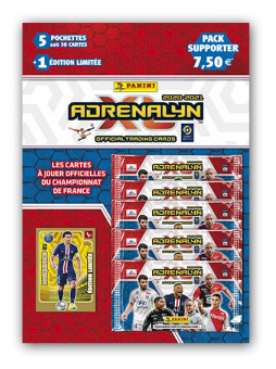 PANINI ADRENALYN XL LIGUE 1 2020-2021 PACK SUPPORTER MARQUINOS