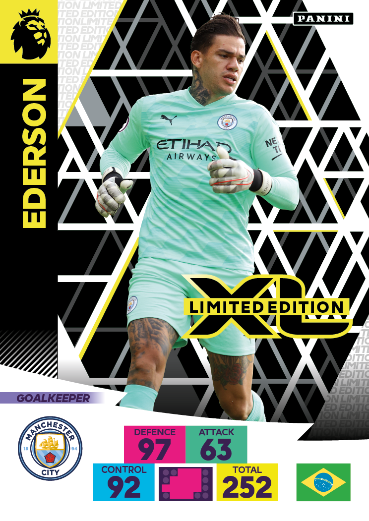 PANINI ADRENALYN XL PREMIER LEAGUE 2020-21 LE EDERSON