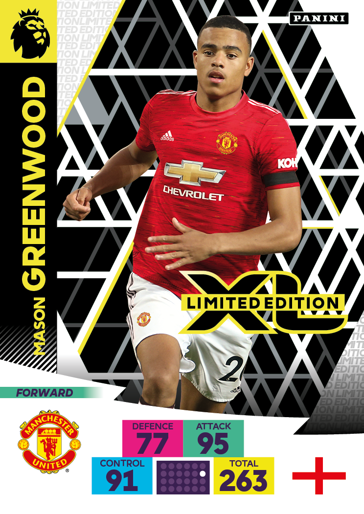 PANINI ADRENALYN XL PREMIER LEAGUE 2020-21 LE GREENWOOD