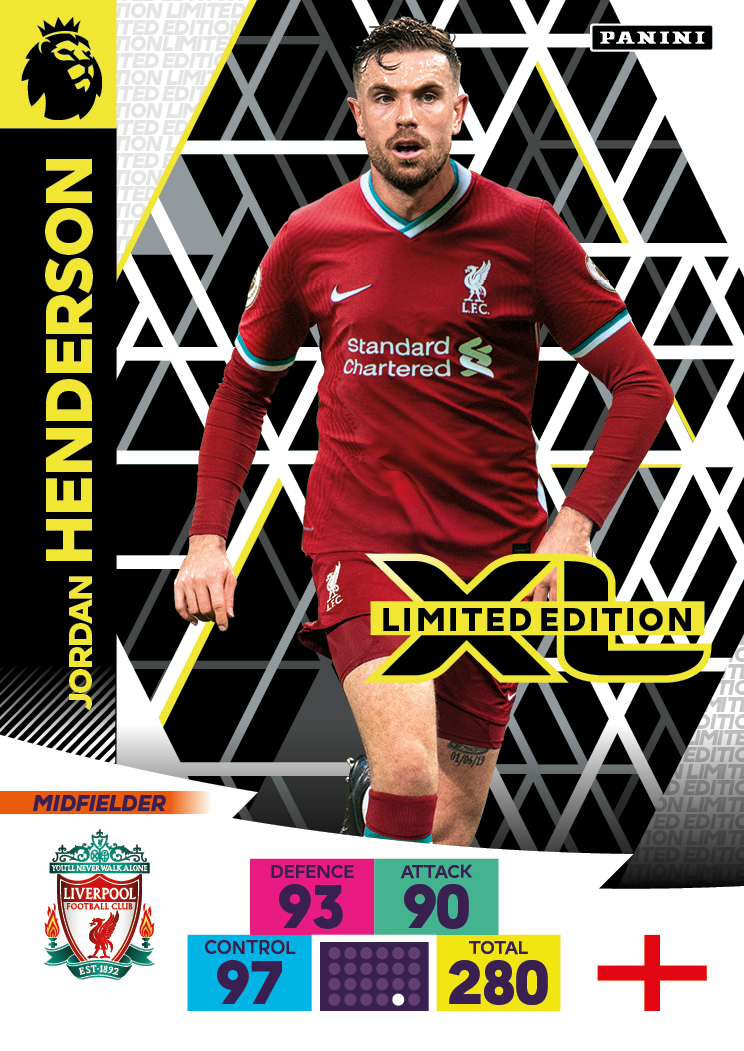 PANINI ADRENALYN XL PREMIER LEAGUE 2020-21 LE HENDERSON