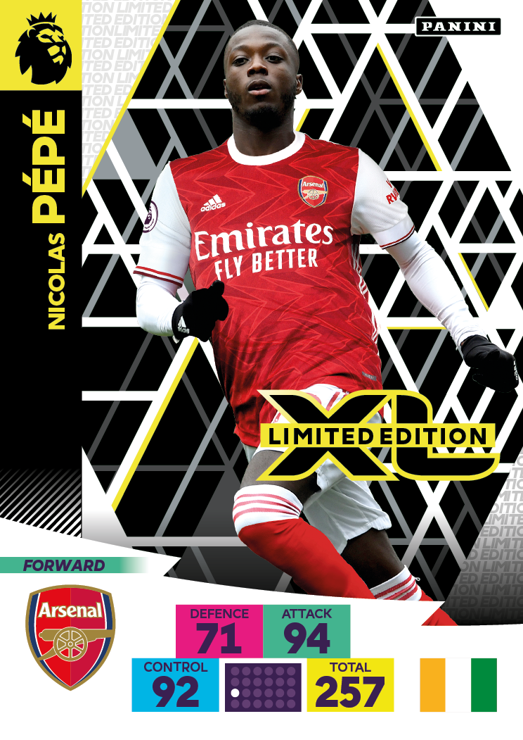 PANINI ADRENALYN XL PREMIER LEAGUE 2020-21 LE PEPE