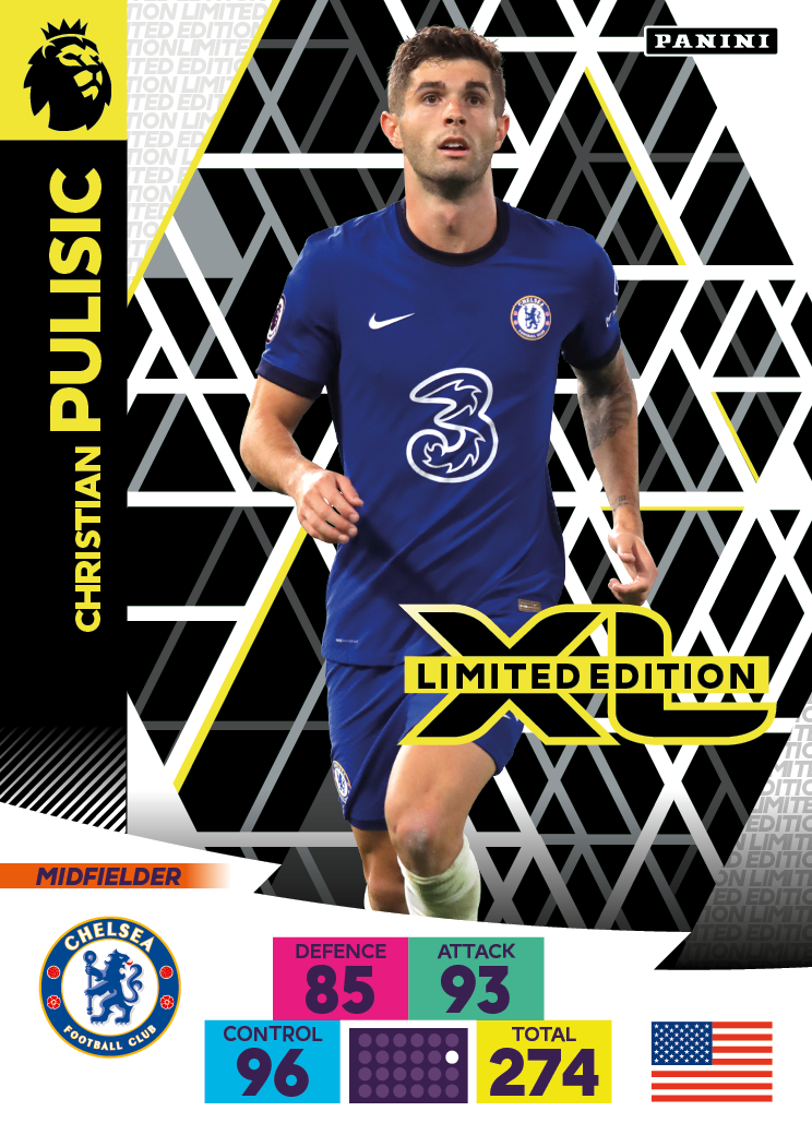 PANINI ADRENALYN XL PREMIER LEAGUE 2020-21 LE PULISIC