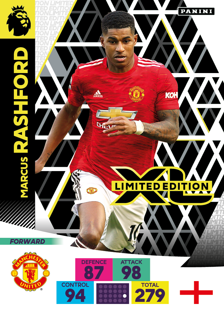 PANINI ADRENALYN XL PREMIER LEAGUE 2020-21 LE RASHFORD