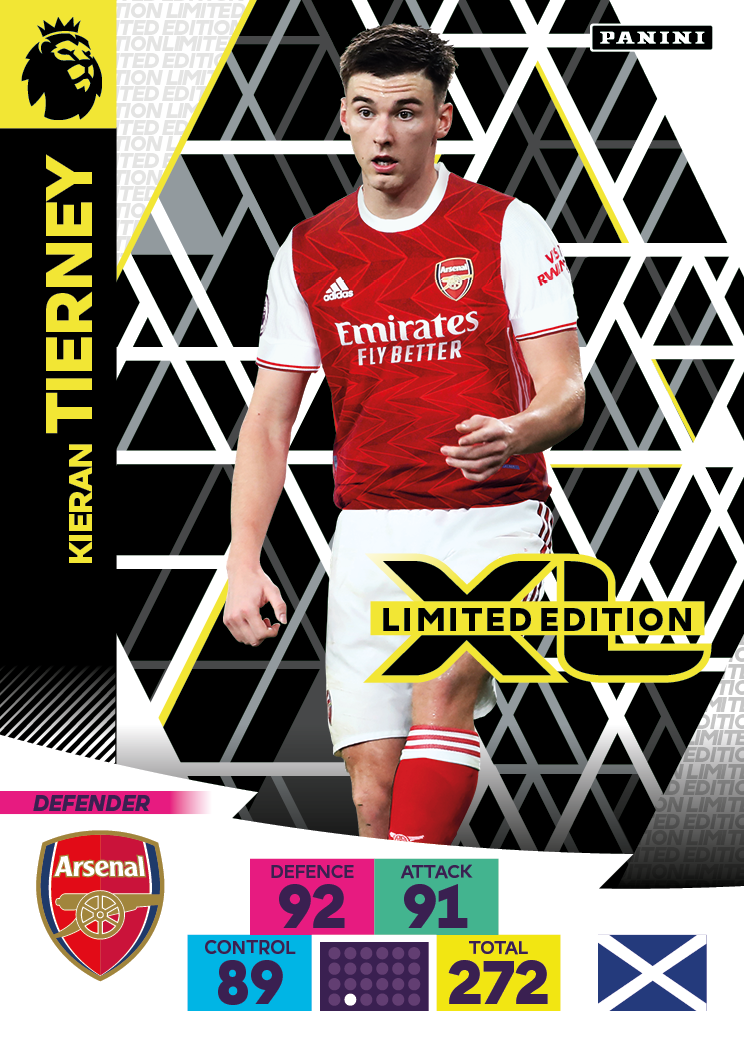 PANINI ADRENALYN XL PREMIER LEAGUE 2020-21 LE TIERNEY