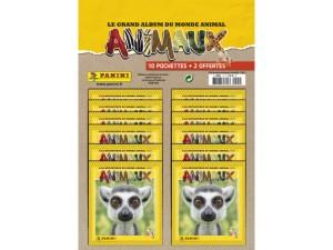 PANINI ANIMAUX 2020 MULTIPACK DE 10 POCHETTES