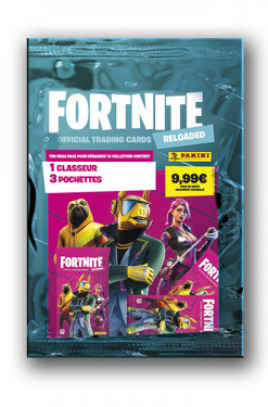 PANINI FORTNITE RELOADED FR PACK DE DEMARRAGE