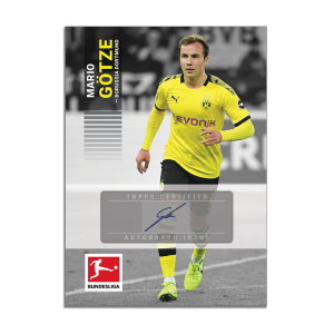 TOPPS ON DEMAND BUNDESLIGA SERIE 2 CARTE GOTZE SIGNATURE