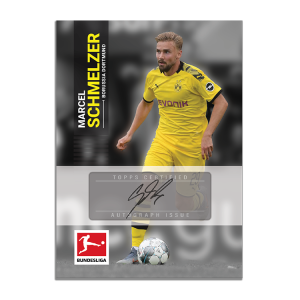 TOPPS ON DEMAND BUNDESLIGA SERIE 2 CARTE SCHMELZER SIGNATURE
