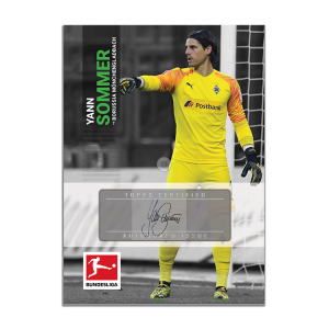 TOPPS ON DEMAND BUNDESLIGA SERIE 2 CARTE SOMMER SIGNATURE