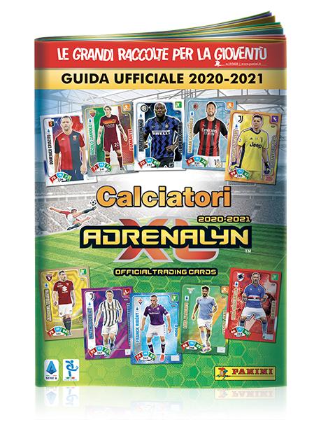 PANINI ADRENALYN XL CALCIATORI 2020-2021 GUIDE OFFICIEL