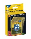 PANINI FIFA 365 STICKERS 2021 BLISTER 8 POCHETTES