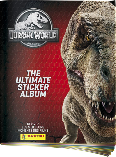 PANINI JURASSIC WORLD ULTIMATE STICKERS ALBUM