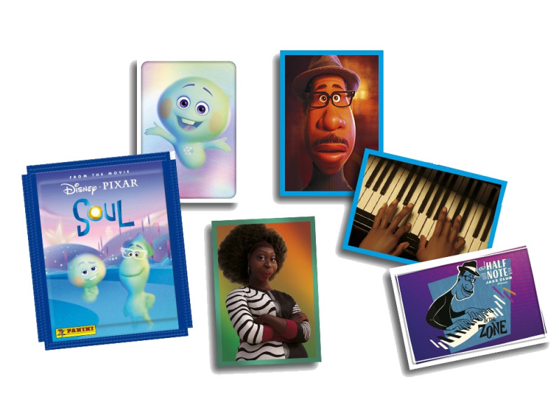 PANINI DISNEY PIXAR SOUL VISUEL STICKERS