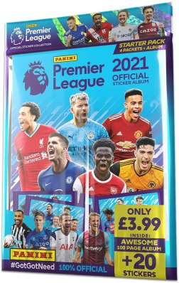 PANINI PREMIER LEAGUE STICKERS 2021 STARTER PACK