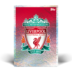 TOPPS UEFA CHAMPIONS LEAGUE 2020-21 BADGE LIVERPOOL