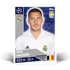 TOPPS UEFA CHAMPIONS LEAGUE 2020-21 HAZARD
