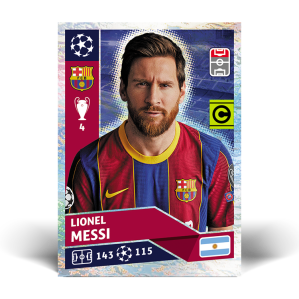 TOPPS UEFA CHAMPIONS LEAGUE 2020-21 MESSI 02