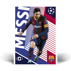 TOPPS UEFA CHAMPIONS LEAGUE 2020-21 MESSI