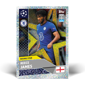 TOPPS UEFA CHAMPIONS LEAGUE 2020-21 RISING STAR JAMES