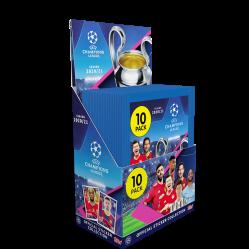 TOPPS UEFA CHAMPIONS LEAGUE 2020-21 STICKERS BOITE 50 POCHETTES