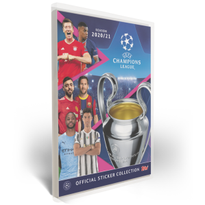 TOPPS UEFA CHAMPIONS LEAGUE 2020-21 STICKERS CLASSEUR
