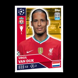 TOPPS UEFA CHAMPIONS LEAGUE 2020-21 VAN DIJK 02