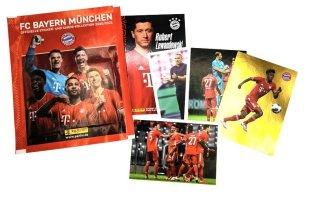 PANINI FC BAYERN MUNICH 2020-2021 POCHETTE AVEC STICKERS