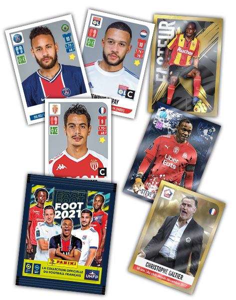 PANINI FOOT 2021 LIGUE 1 LIGUE 2 STICKERS VISUEL DES STICKERS