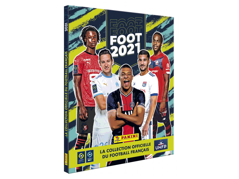 PANINI FOOT LIGUE 1 2021 ALBUM RIGIDE