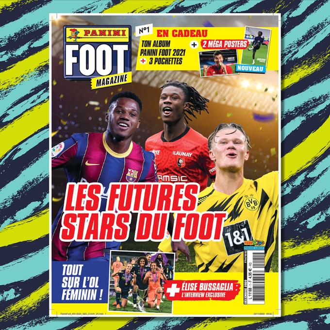 PANINI FOOT MAGAZINE 2020-2021 VISUEL