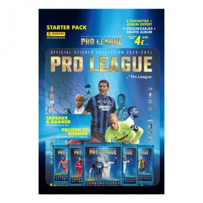 PANINI PRO LEAGUE STICKERS 2020-2021 PACK DE DEMARRAGE