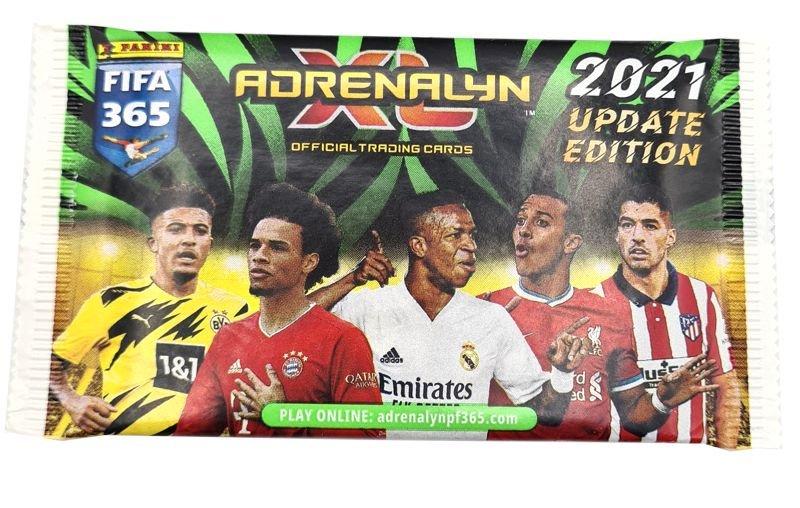 PANINI ADRENALYN XL FIFA 365 2021 UPDATE EDITION POCHETTE
