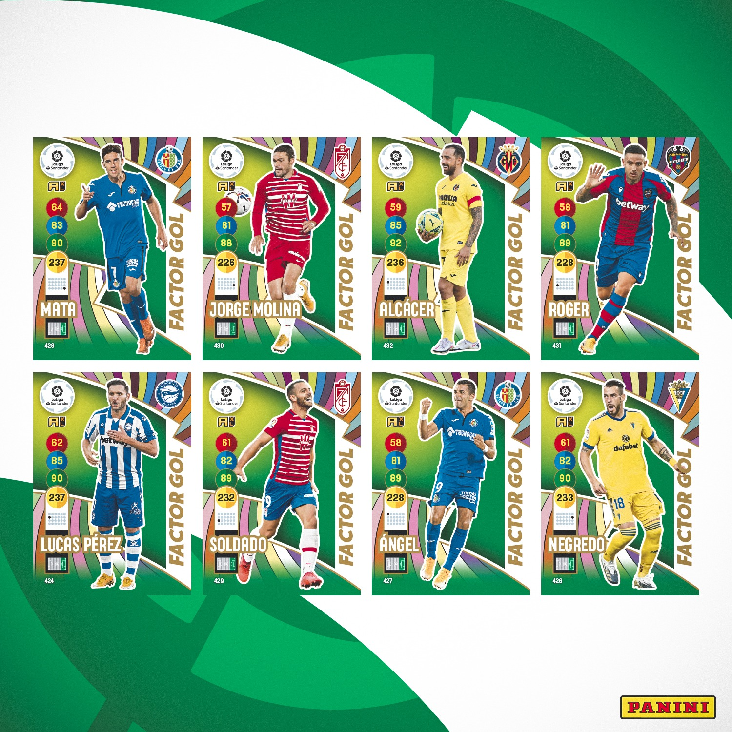 PANINI ADRENALYN XL LIGA 2020-21 ANNONCE CARTES FACTOR GOL