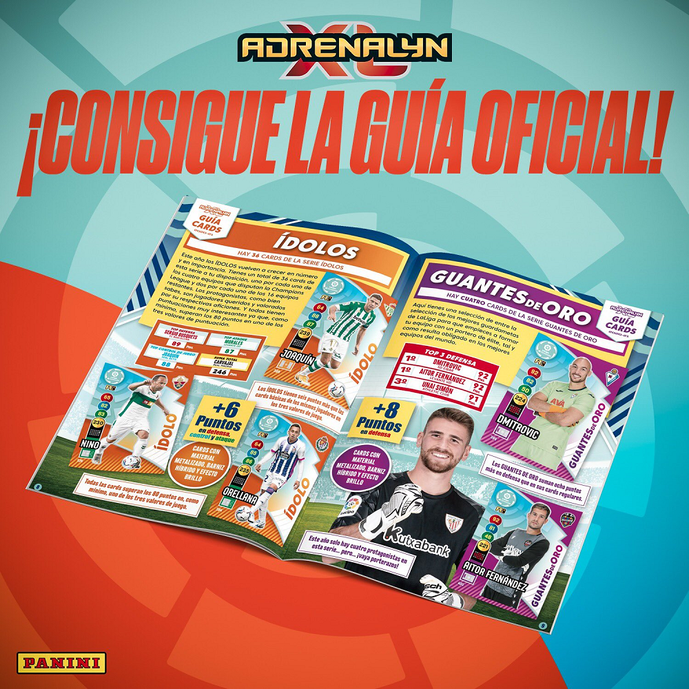 PANINI ADRENALYN XL LIGA 2020-21 ANNONCE GUIDE OFFICIEL
