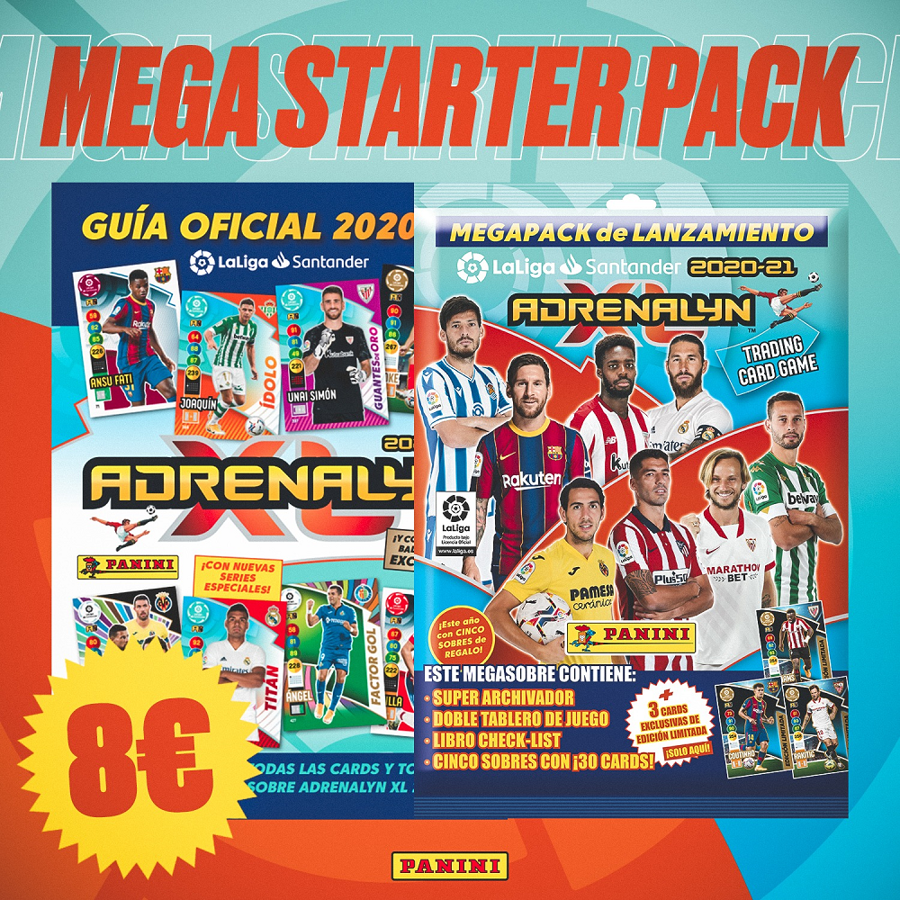 PANINI ADRENALYN XL LIGA 2020-21 ANNONCE STARTER PACK DE DEMARRAGE GENERAL