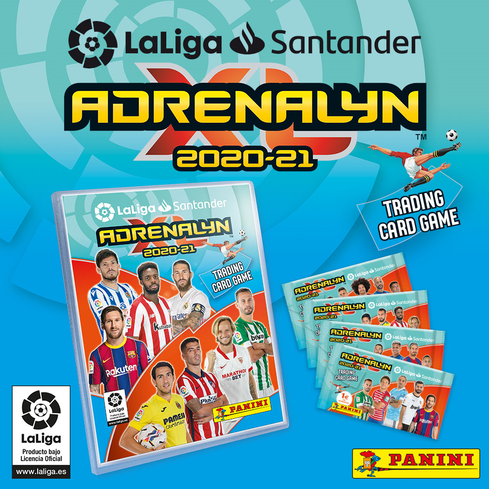 PANINI ADRENALYN XL LIGA 2020-21 CLASSEUR ET COLLECTION