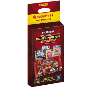 PANINI ADRENALYN XL RUGBY 2020-2021 BLISTER 4 POCHETTES